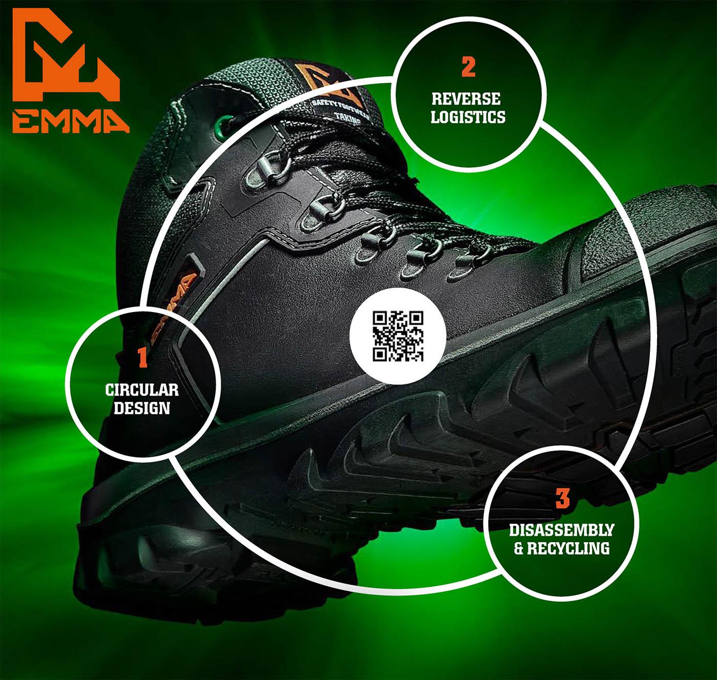 EMMA Responsible Safety Footwear