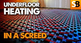 How to Lay Underfloor Heating in a Screed