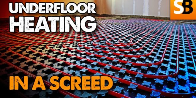 how to lay underfloor heating in a screed youtube thumbnail