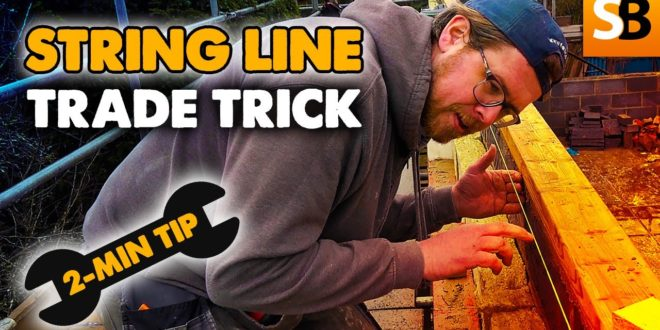 straight string line trick 2 minute tip youtube thumbnail