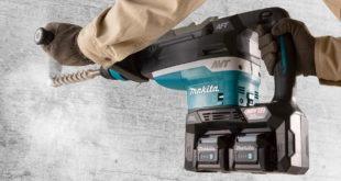 Makita Launches New '80v' Max SDS-Max Demolition Hammers