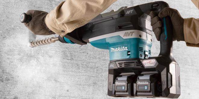Makita HR006G 40VmaxX2 80V XGT Brushless 52mm AWS Rotary Hammer