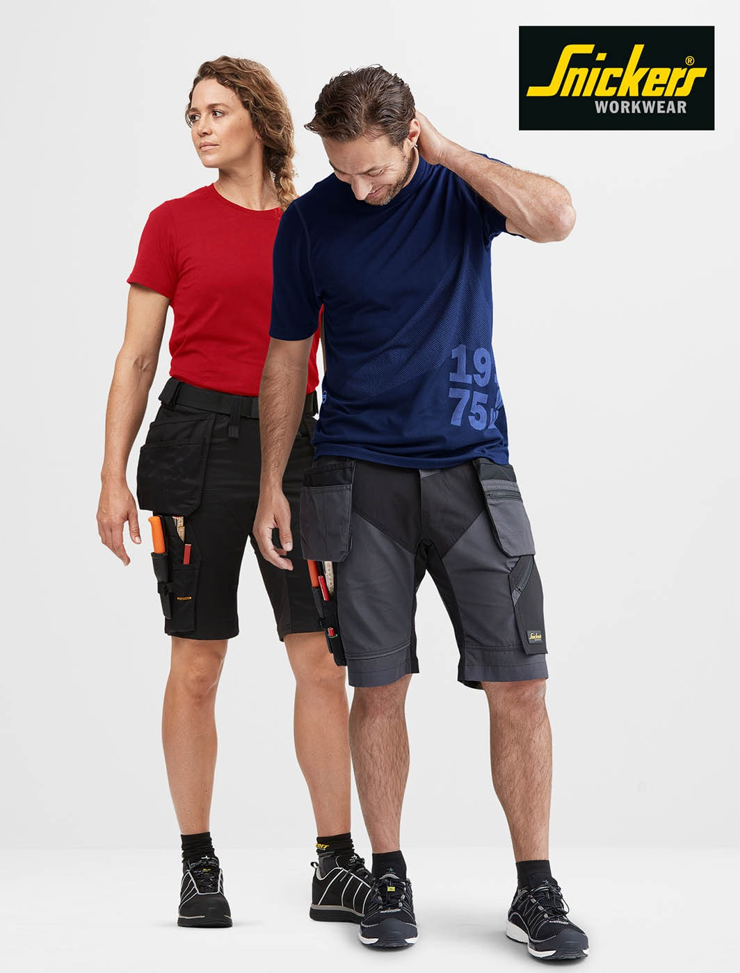 Snickers Workwear Stretch Shorts 1