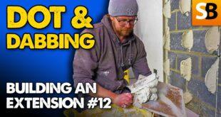 dot dabbing plasterboard extension build 12 youtube thumbnail