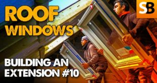 fitting keylite roof windows extension build 10 youtube thumbnail