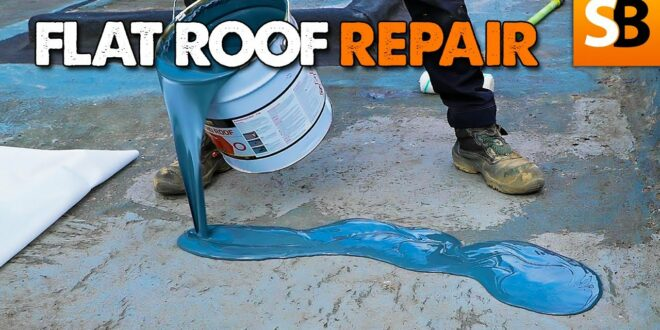 how to repair a flat roof with everbuild liquid roof youtube thumbnail