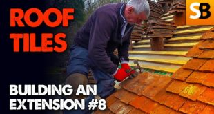 laying clay roof tiles extension build 8 youtube thumbnail