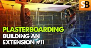 plasterboarding extension build 11 youtube thumbnail