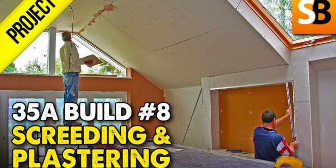screeding plastering 35a extension 8 youtube thumbnail