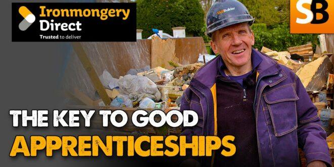 the key to good apprenticeships with ironmongerydirect youtube thumbnail