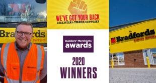 Bradfords Building Supplies wins big at the BMAs