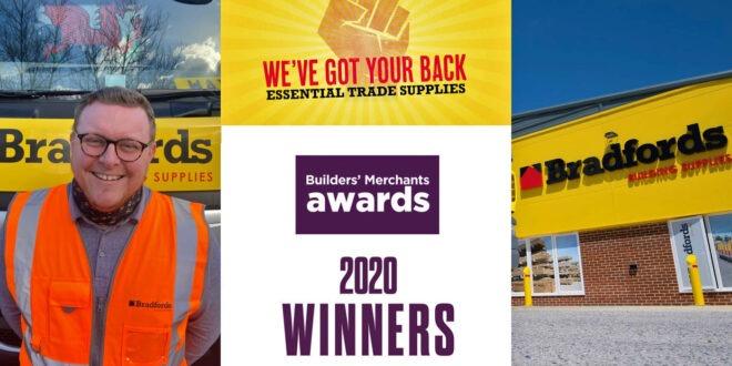 Bradfords Builders Merchants Awards 2020