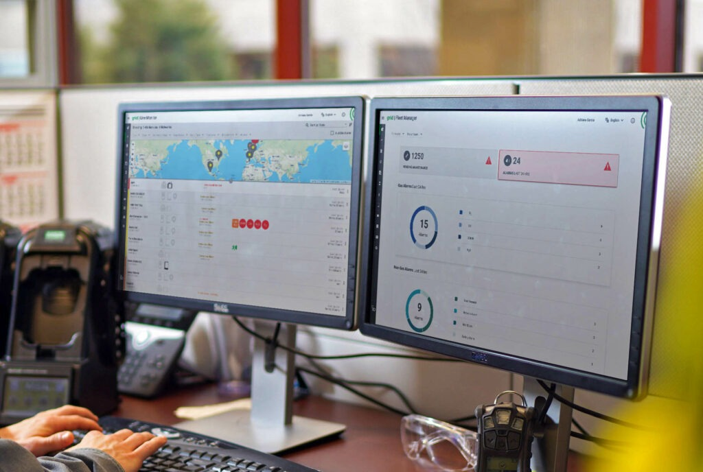 Safety io's new and improved Grid Fleet Manager streamlines gas detection management