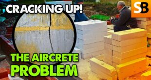 Aircrete Blocks Cracking up – Unwanted Trouble