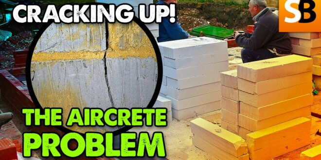aircrete blocks cracking up unwanted trouble youtube thumbnail