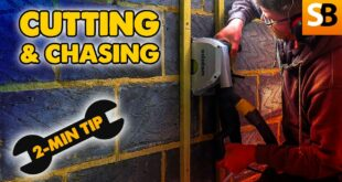 dust free cutting chasing pipes cables 2 minute tip youtube thumbnail
