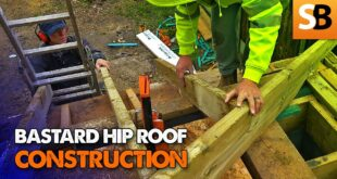 how to cut a bastard or irregular hip roof youtube thumbnail