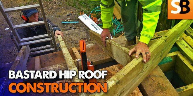 how to cut a bastard or irregular hip roof youtube thumbnail