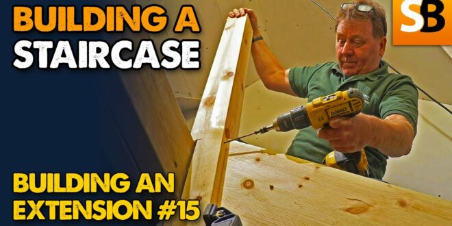 squeak free staircase extension build 15 youtube thumbnail