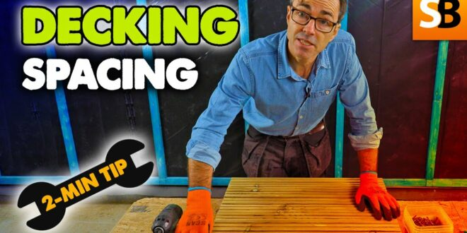 get your decking spacing right 2 min tip youtube thumbnail