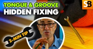 tongue groove hidden fixing 2 minute tip youtube thumbnail