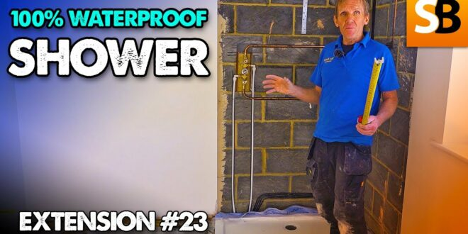 100 waterproof shower surround extension 23 youtube thumbnail