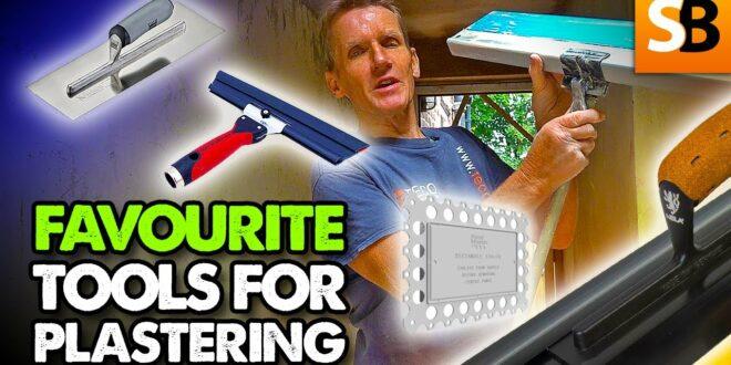 5 plastering tools i use on every job youtube thumbnail