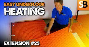 easy bathroom underfloor heating extension 25 youtube thumbnail