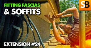 how to fit fascias soffits extension 24 youtube thumbnail