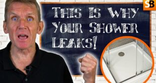 this is why your shower tray leaks youtube thumbnail