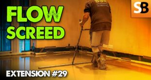 liquid floor screed going with the flow youtube thumbnail