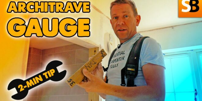 architrave gauge 2 minute tip youtube thumbnail